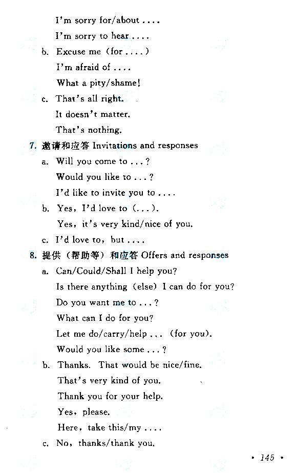 江西成人高考高起点英语考试大纲